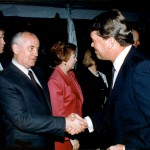 Robert with Mikhail Gorbachev